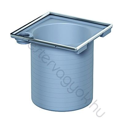 ACO fürdőszobai padlóösszefolyóhoz felsőrész 150x150mm négyszögletes rácshoz