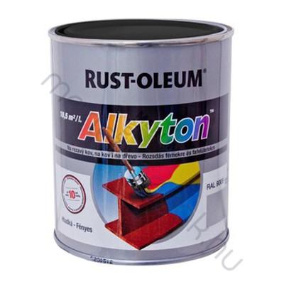 Alkyton fémfesték fényes, fedő és korroziógátló alapozó egyben