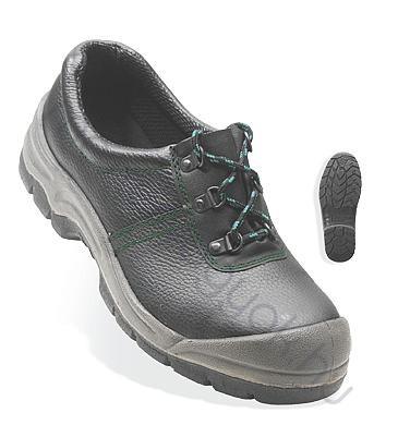 Munkavédelmi cipő Azurite (S3) fekete bőr