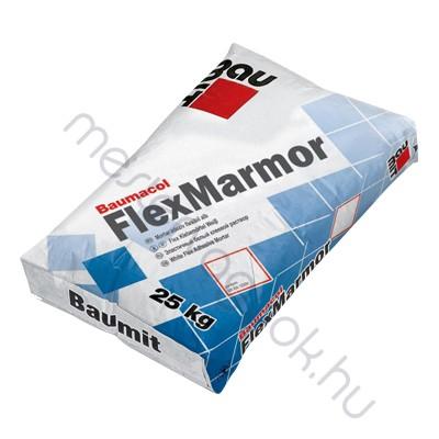 Baumit Baumacol Flex Marmor C2TES1 flexibilis márvány és üvegmozaik burkolat ragasztó