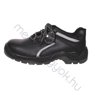 Munkavédelmi cipő Brcdereis fekete bőr
