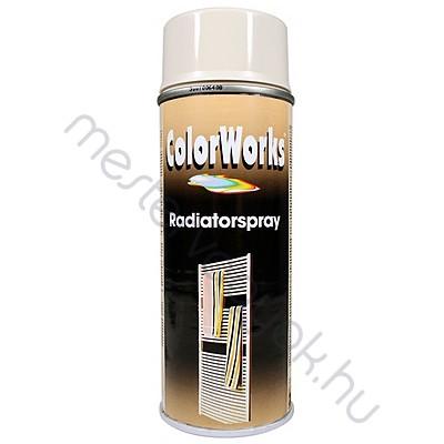 Motip Colorworks radiátorzománc spray festék, színes magasfényű aerozol