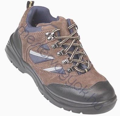 Munkavédelmi cipő COPPER (S1P) barna velúr