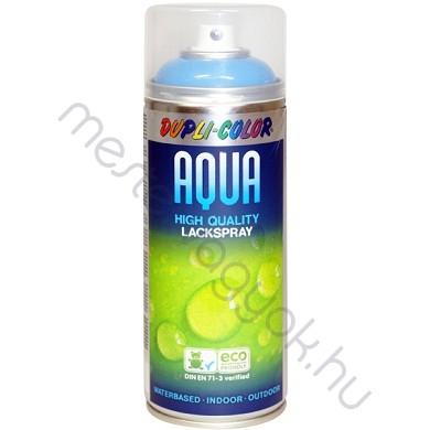 Dupli Color Aqua vizes bázisú magasfényű lakk, környezetbarát spray