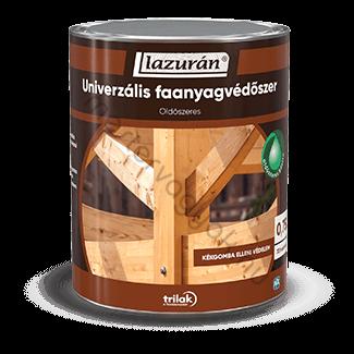 Lazurán Univerzális alapozó, biocid tartalmú oldószeres kültéri faanyagvédőszer