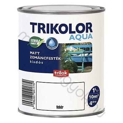 Trikolor Aqua matt akrilfesték, kültéri és beltéri fa fém és falfelületekre