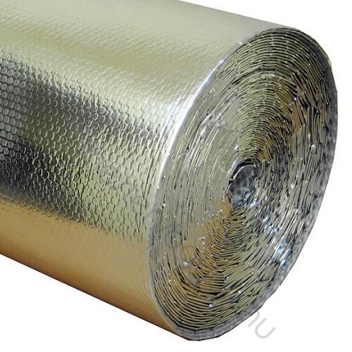 Solflex padlófűtés alátétfólia hőtükrös, légpárnás párazáró- szigetelő fólia 50m2 (1,2x41,7m) 140gr/m2